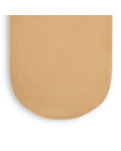 Organic Moses Basket Fitted Sheet Honey