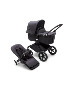 Bugaboo Fox3 Black Chassis/ Washed Black Complete