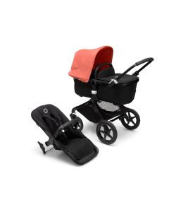 Bugaboo Fox3 Black Chassis / Black Style Pack + Canopy Of Choice