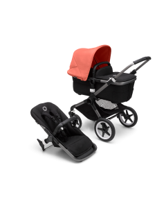 Bugaboo Fox3 Graphite Chassis / Black Style Pack + Canopy Of Choice