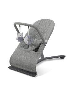 Gravity Baby Bouncer Grey Melange