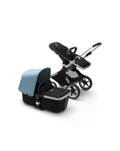 Bugaboo Fox2 Aluminum Chassis / Black Style Pack + Canopy Of Choice