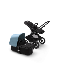 Bugaboo Fox2 Black Chassis / Black Style Pack + Canopy of Choice