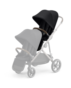 Cybex Gazelle S Seat Unit Deep Black - Taupe Chassis
