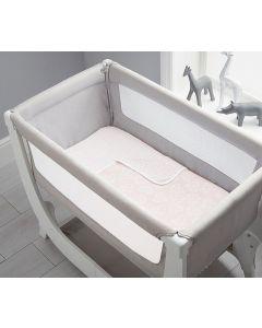 Shnuggle Air Crib Bedding Set