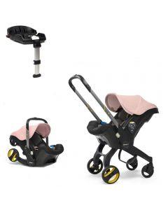 Doona Car Seat & Isofix Base - Blush Pink