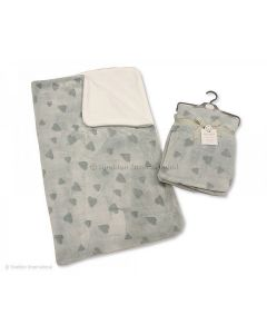 Super Soft Baby Wrap - Hearts