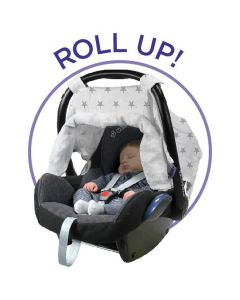 DOOKY Adjustable Car Seat Canopy