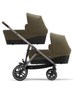Cybex Gazelle S Twin Mode Classic Beige- Taupe Chassis