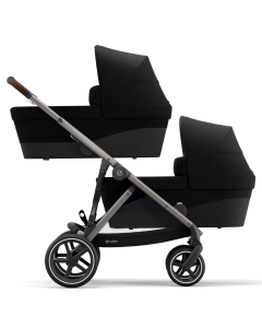 Cybex Gazelle S Twin Mode Deep Black- Taupe Chassis