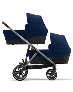 Cybex Gazelle S Twin Mode Navy Blue- Taupe Chassis