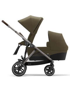 Cybex Gazelle S Sibling Mode Classic Beige- Taupe Chassis