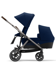 Cybex Gazelle S Sibling Mode Navy Blue- Taupe Chassis
