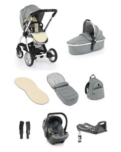 Egg®2 Monument Grey Bundle With Egg Shell Car Seat1