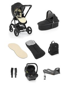 Egg®2 Just Black Bundle With Egg Shell Car Seat1