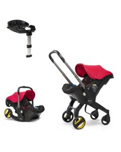 Doona Car Seat & Isofix Base - Flame Red