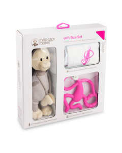 Matchstick Monkey Gift Set Pink