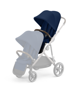 Cybex Gazelle S Seat Unit Navy Blue - Taupe Chassis