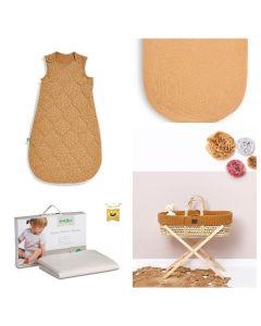 6 Piece Honey Moses Basket Bundle