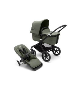 Bugaboo Fox3 Black Chassis/ Forest Green Complete