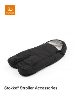 STOKKE® XPLORY® X FOOT MUFF Rich Black