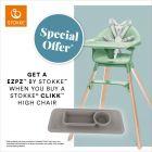 Stokke® Clikk™ & free Ezpz™ By Stokke™ offer