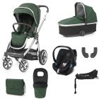 Oyster3 Alpine Green & Cybex Aton5 Bundle
